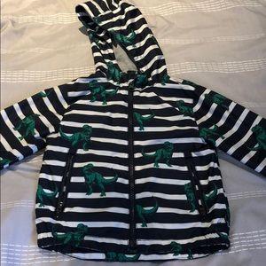 Toddler boys dinosaur rain jacket gap 2t